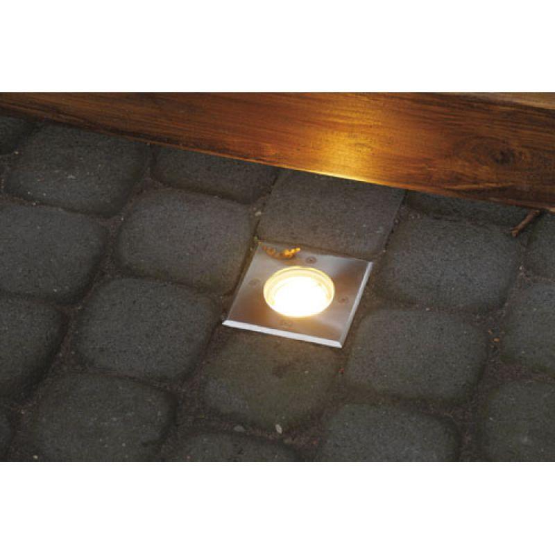 heitronic 36853 bodeneinbaustrahler potsdam kunststoff. Black Bedroom Furniture Sets. Home Design Ideas