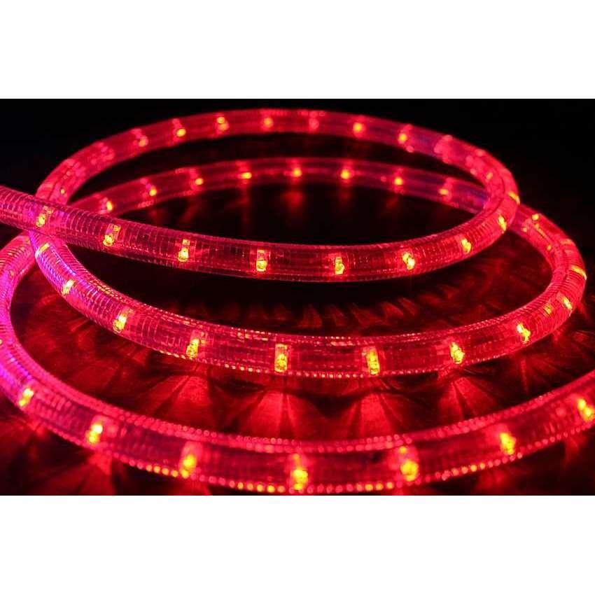 led lichtschlauch rot l 30m mit 24v anschlu und gleichrichter. Black Bedroom Furniture Sets. Home Design Ideas