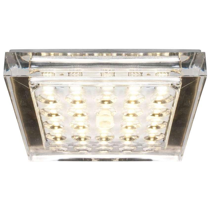 Paul Neuhaus Futura LED Deckeneinbauleuchte 25 LEDs 5W 3000K 500lm
