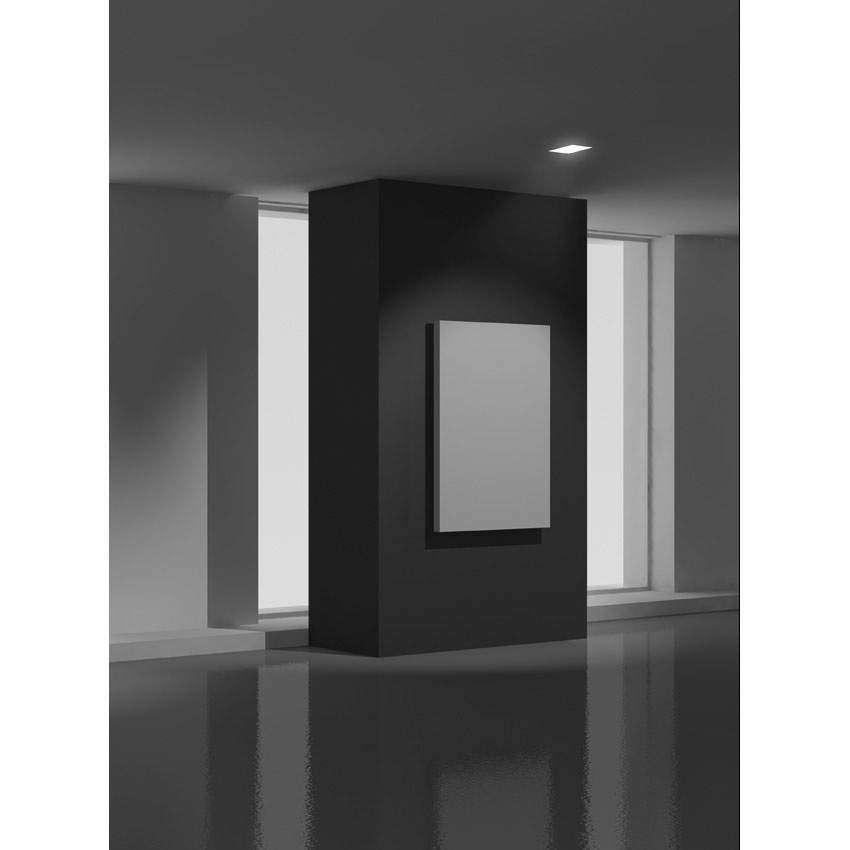 belfiore decken wandeinbauleuchte eckig gips wei. Black Bedroom Furniture Sets. Home Design Ideas