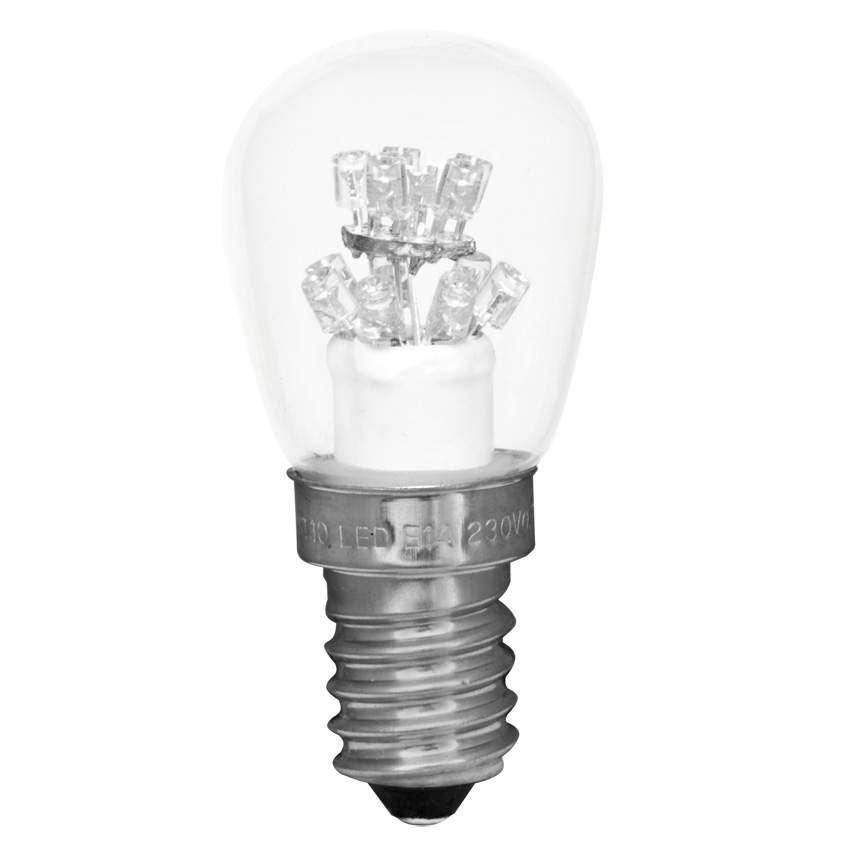 Best Season LED Birnenllampe, E14, 230V 0,7W, warm weisse LED 2100K