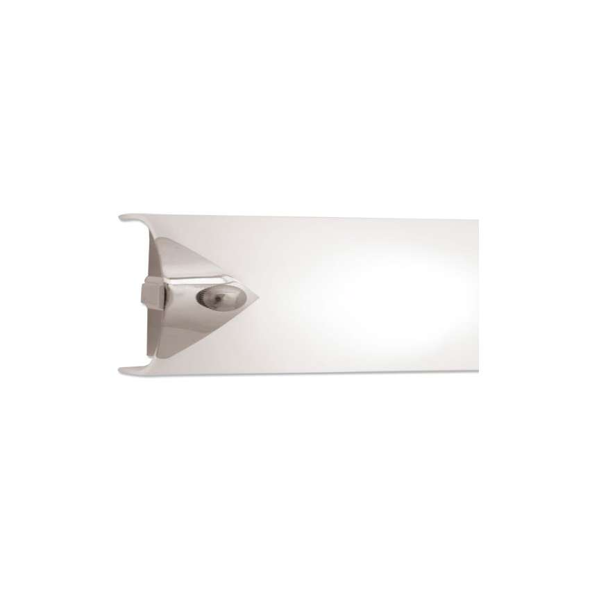 spiegelleuchte orion 4 flg chrom glas opal mit schalt. Black Bedroom Furniture Sets. Home Design Ideas