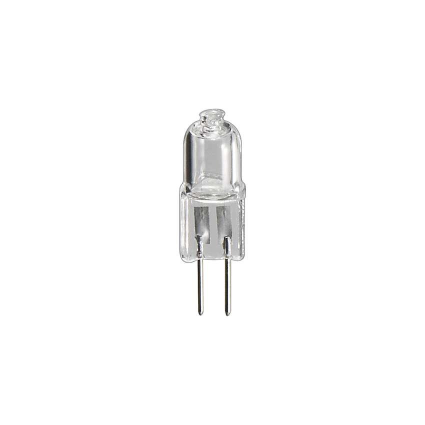 goobay Halogen-Stiftsockellampe G4 12V 20W, Sockel G4 klar EEK:C