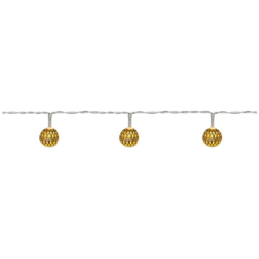 Konstsmide led minilichterkette goldene metallb ll for Innendekoration neuhaus