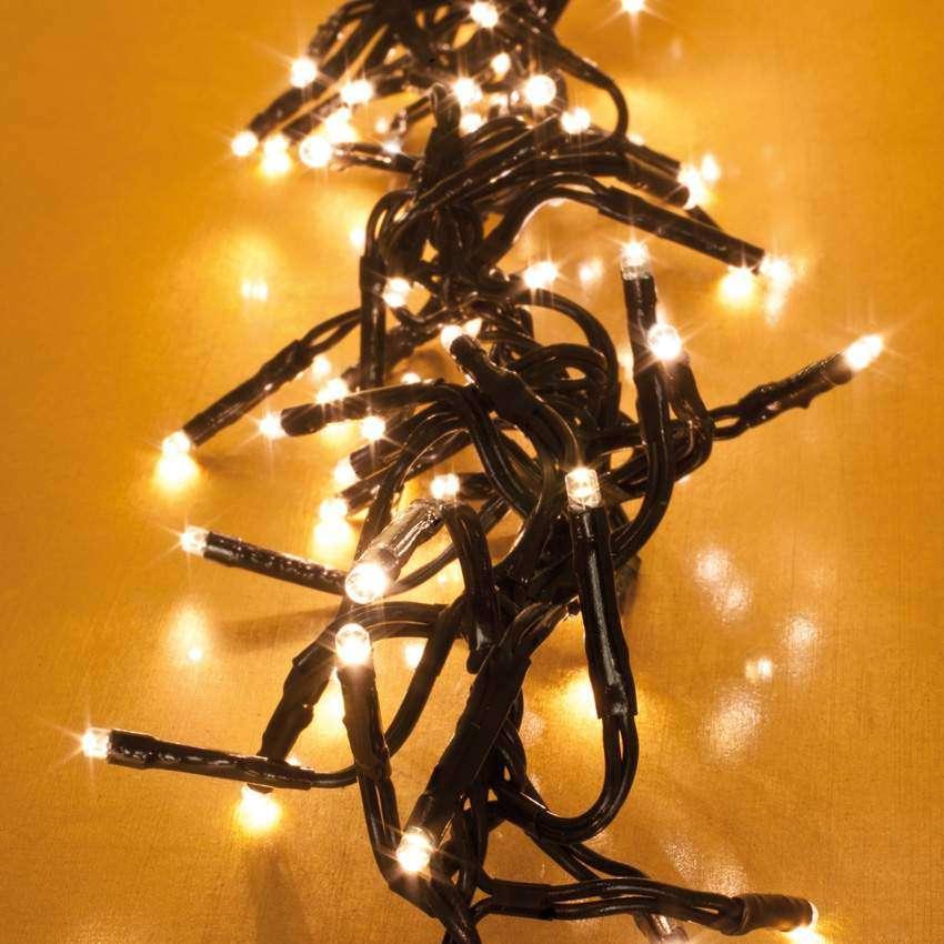 led clusterlightkette 384 warmweisse led blink laufli. Black Bedroom Furniture Sets. Home Design Ideas