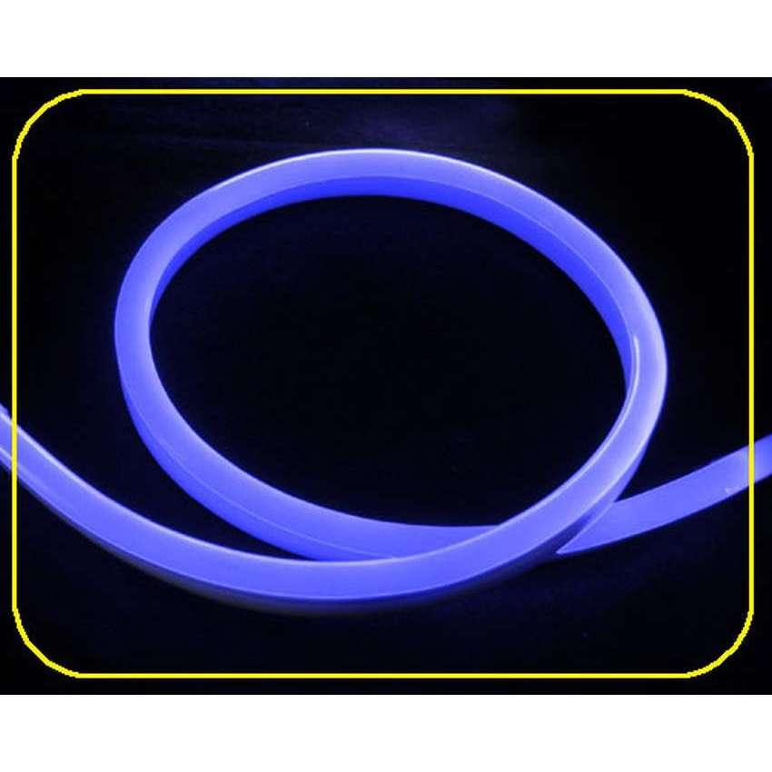 led lichtschlauch in neonoptik blau 2 6w m 230v anschlu. Black Bedroom Furniture Sets. Home Design Ideas