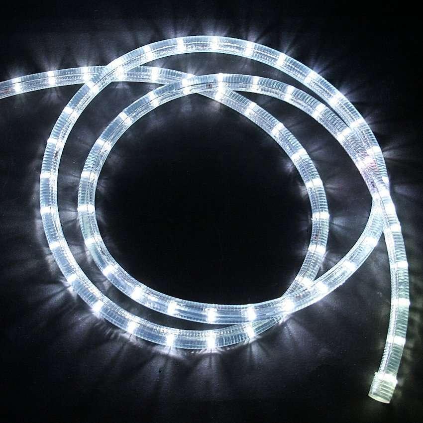 led lichtschlauch weiss mit 12v anschlu und gle. Black Bedroom Furniture Sets. Home Design Ideas