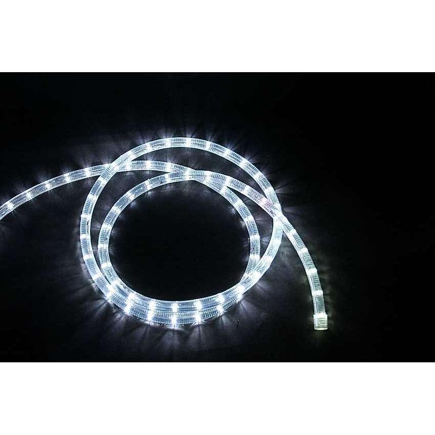 led lichtschlauch weiss mit 12v anschlu rundum. Black Bedroom Furniture Sets. Home Design Ideas