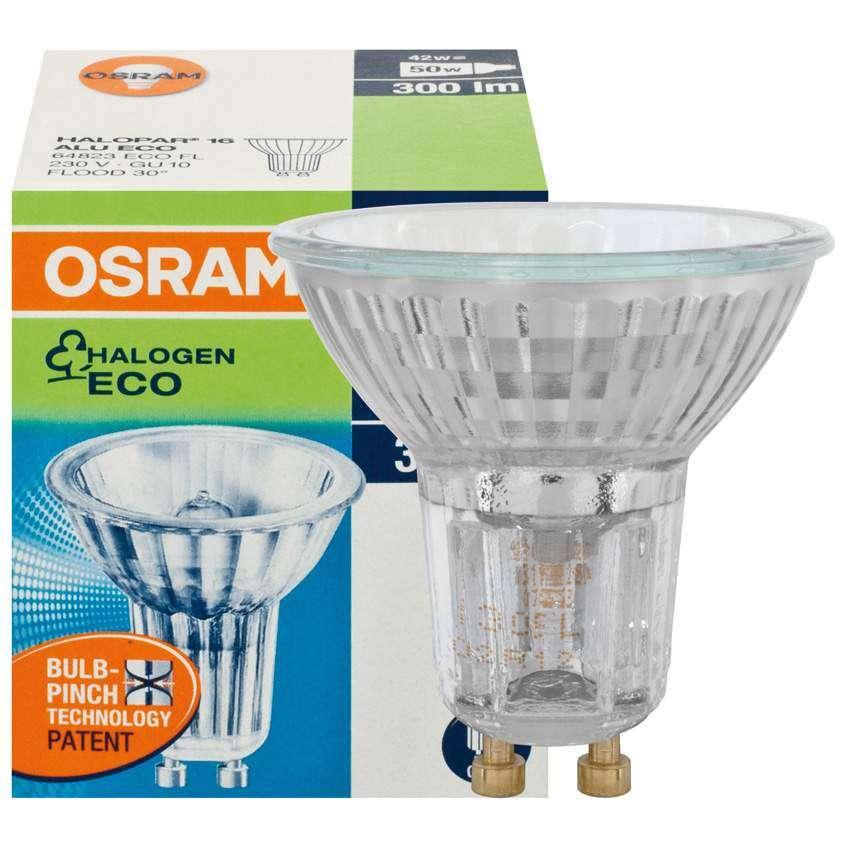 osram hv halogen lampe halopar 16 sockel gu10 40w. Black Bedroom Furniture Sets. Home Design Ideas