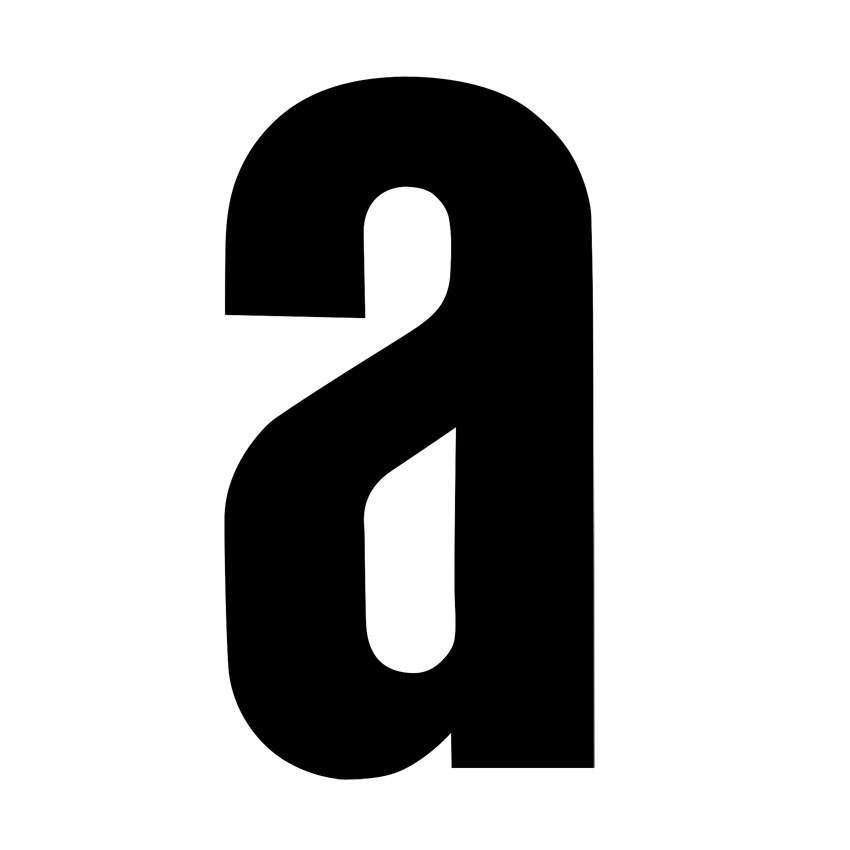 RZB Buchstabe a für Hausnummerleuchte schwarz selb