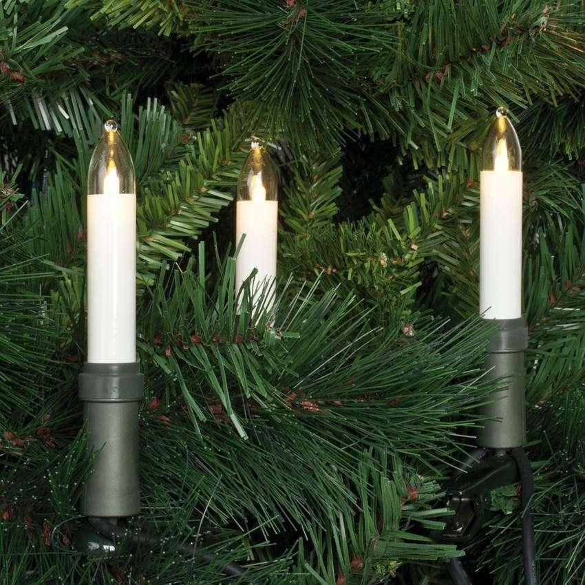 Rotpfeil Weihnachtslichterketten Rotpfeil LED Weihnachts Lichterkette 15-flammig Weihnachtsbaumkette
