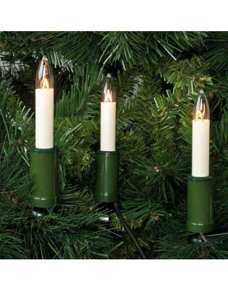 Au en weihnachts lichterkette 20 schaftkerzen m for Bilder mit lichterkette