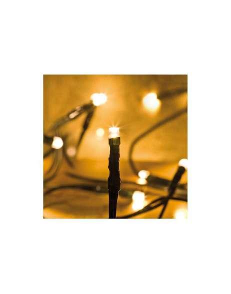 Led minilichterkette 50 flammig klar mit 50 warmwei sz for Innendekoration neuhaus