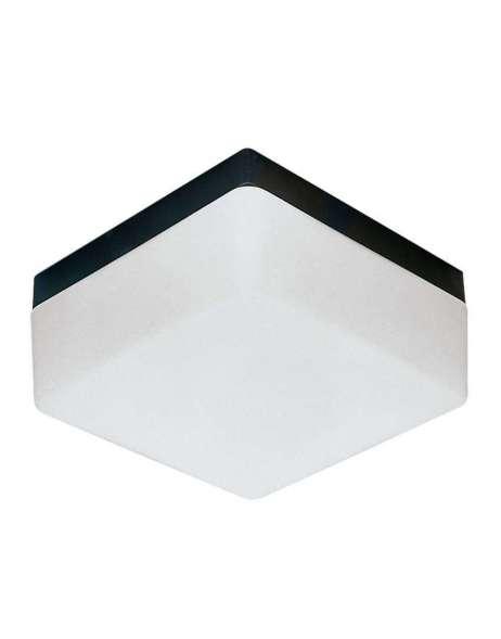 deckenleuchte kunststoff schwarz glas opal seidenmatt. Black Bedroom Furniture Sets. Home Design Ideas