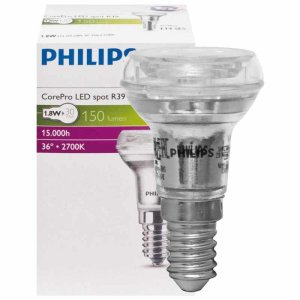 Müller-Licht 6W LED R50 Reflektorlampe 40W Ersatz E14 400lm 2700K EEK:A 400071