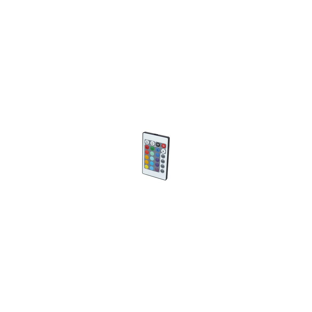 ir led rgb controller mit scheckkarten fernbedienung. Black Bedroom Furniture Sets. Home Design Ideas